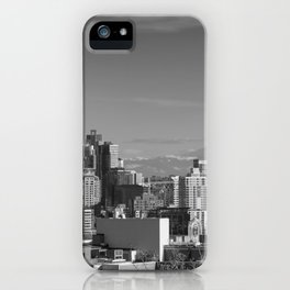 Seattle Winter White iPhone Case