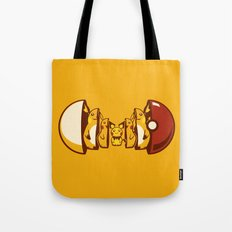 Poketryoshka - Electric Type Tote Bag