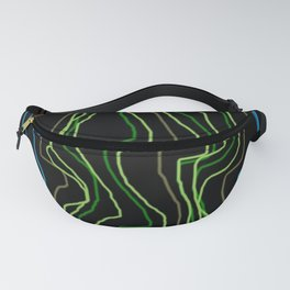 NEON NEEDLES Fanny Pack
