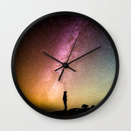Light and Magic 004 // Head Space Wall Clock