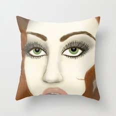 Vintage in Color Throw Pillow