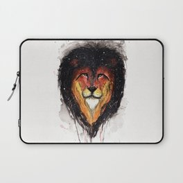 Fire Lion. Laptop Sleeve
