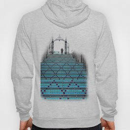 Mystery Man on the Blue Stairway to Heaven, Kansas City Hoody