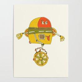 Robot Alien Monster No 200 Poster