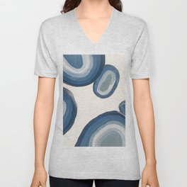 The EP Abstract Acrylic Painting Unisex V-Neck