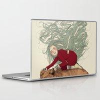winter Laptop & iPad Skins featuring Winter by Sandra Dieckmann