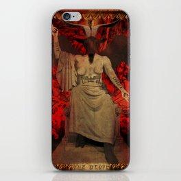 Baphomet Tarot iPhone Skin