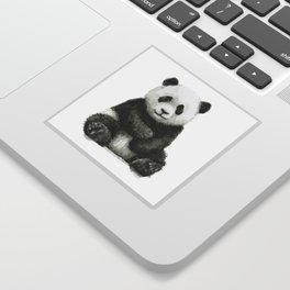 Panda Baby Watercolor Sticker