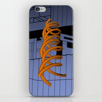 saga iPhone & iPod Skins featuring Saga Del Rio Salino by Charles Emlen