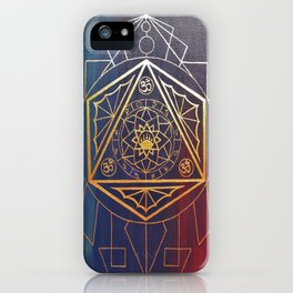 Color Meditation  iPhone Case