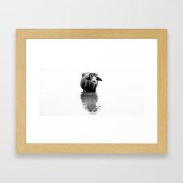 In The Buff Framed Art Print