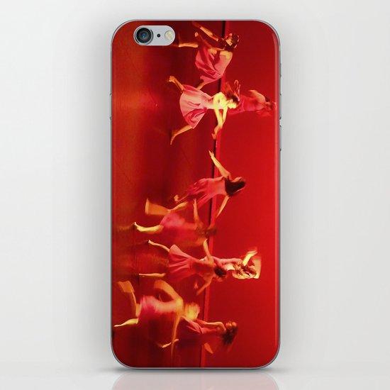 Dance RED iPhone & iPod Skin
