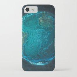 Globe: Relief Atlantic iPhone Case