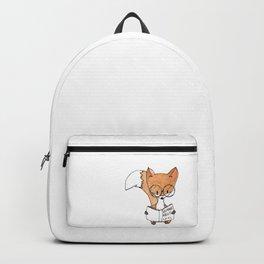 Watercolor fox Backpack