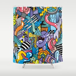 CARAPHERNELIA Shower Curtain