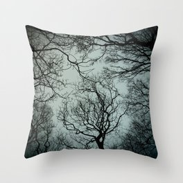 Lift Me Up To Winter Skies Throw Pillow