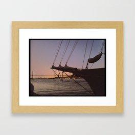 Sailors Delight Framed Art Print