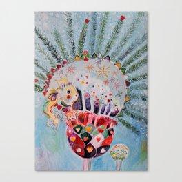 Xmas Guinea Pig Canvas Print