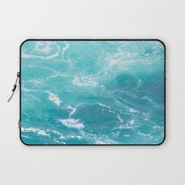 Turquoise Turbulence Laptop Sleeve