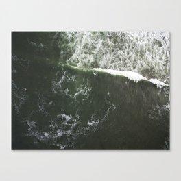 Seafoam  |  Drone Photography Canvas Print