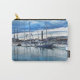Tallinn art 1 #tallinn #city Carry-All Pouch
