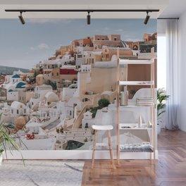 The Hills Have Windows | Santorini, Greece Wall Mural