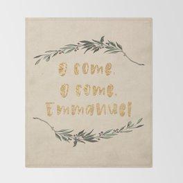 O Come, O Come, Emmanuel Throw Blanket