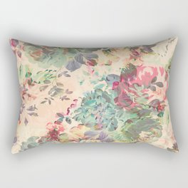 Flower Abstraction Rectangular Pillow