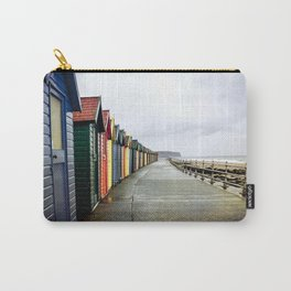 Whitby beach huts Carry-All Pouch