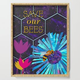 Save Our Bees No. 3 Serving Tray