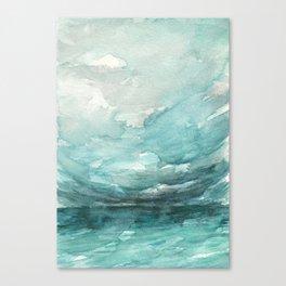 Above the Horizon Canvas Print
