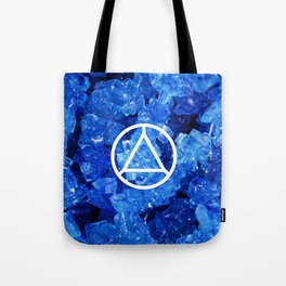Sapphire Candy Gem Tote Bag