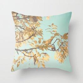 Golden Touch Throw Pillow