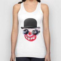 clown Tank Tops featuring Clown by Ahmet Hacıoğlu