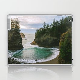 Hidden Cove on the Oregon Coast Laptop & iPad Skin
