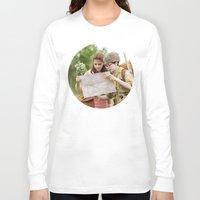 moonrise kingdom Long Sleeve T-shirts featuring MOONRISE KINGDOM by VAGABOND