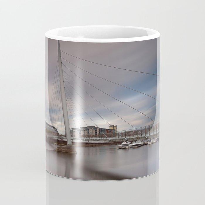 Swansea marina and millennium bridge Coffee Mug