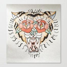 The Javan Tiger  Canvas Print