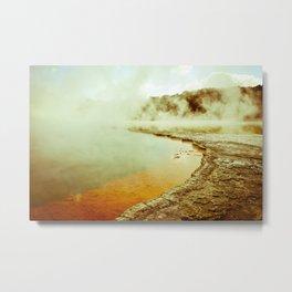 Steamy Geothermals Metal Print