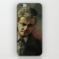 john mayer iPhone & iPod Skins featuring John by charlotvanh
