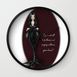 Morticia Wall Clock
