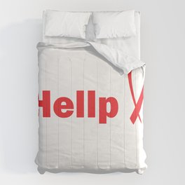 Damen I've Been Through Hellp And Back For A Preeclampsia Survivor graphic Comforters