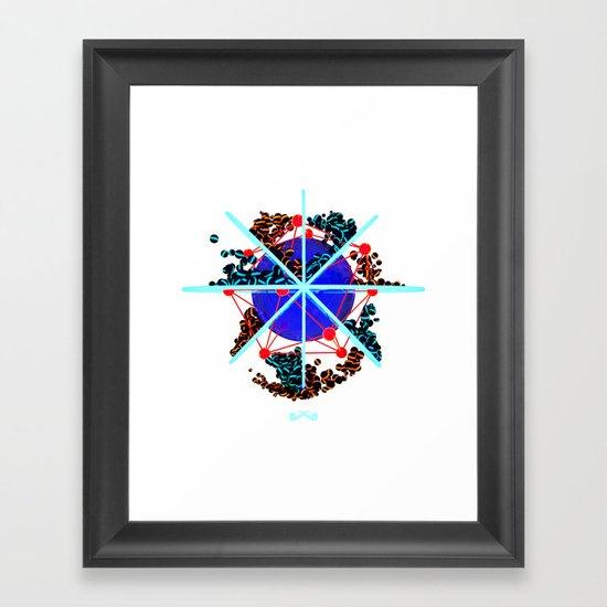 The Core. Framed Art Print