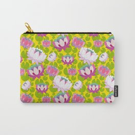 Groovy Lotus Carry-All Pouch