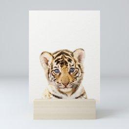 Baby Tiger, Baby Animals Art Print By Synplus Mini Art Print
