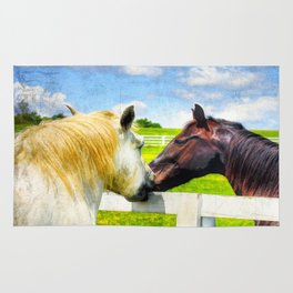 Barn Yard Kisses Rug