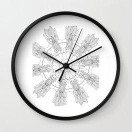 Mandala (1480) Wall Clock