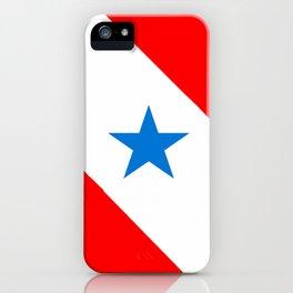 flag of Para iPhone Case