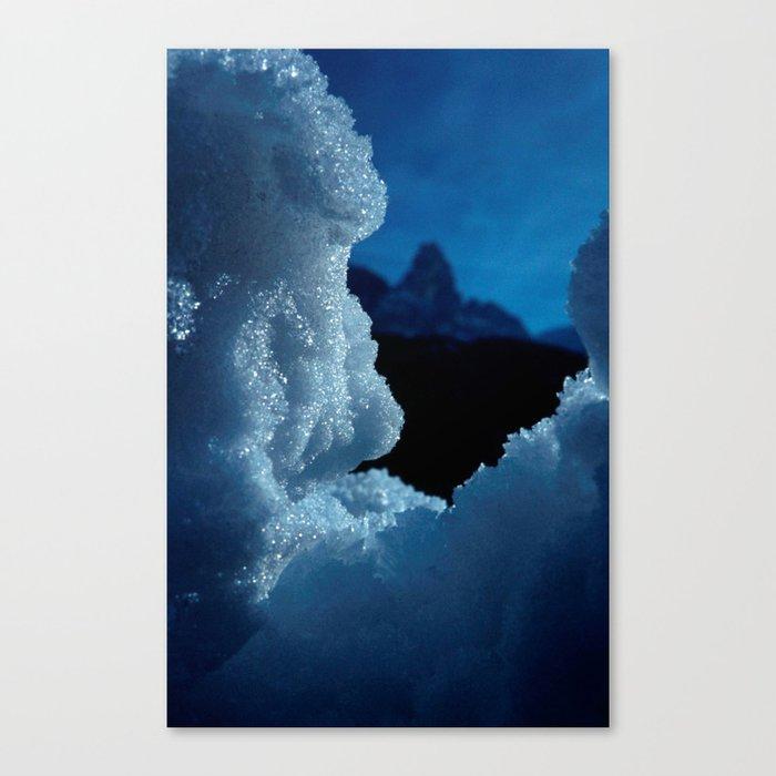 Snowed in #1 #art #society6 Canvas Print