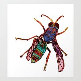 Hornet 1  Art Print